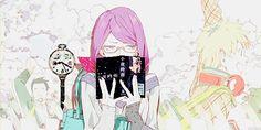 Rize and Hide - Tokyo Ghoul Hide Tokyo Ghoul, Kaneki, Tumblr, Manga, Cute, Anime Characters, Manga Anime, Kawaii, Manga Comics
