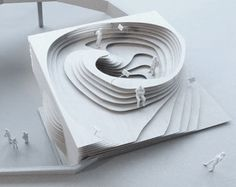 SIA Pavillon, Lausanne A project by: Frei + Saarinen Architekten Water Architecture, Parametric Architecture, Concept Architecture, Futuristic Architecture, Interior Architecture, Architecture Models, Landscape Model, Landscape Design, St Just