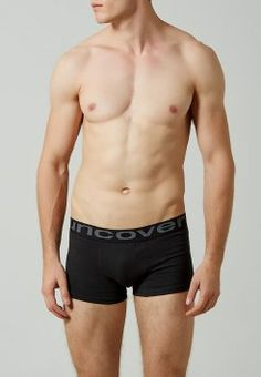 uncover by Schiesser - 2PACK - Boxershorts - angry black