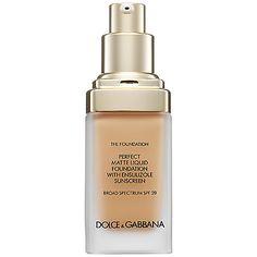 The Foundation Perfect Matte Liquid Foundation Broad Spectrum SPF 20 - Dolce & Gabbana   Sephora