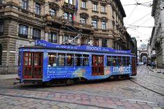 Il tram di Monet a Milano