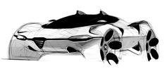 Gashetka | Transportation Design | 2009 | Alfa Romeo by Sasha Selipanov…