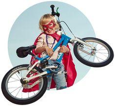 WOOM Bikes! Das Bessere Kinderrad - leicht, sicher, ergonomisch, hochwertig, nachhaltig und giftfrei. Qualität aus Wien. Das mitwachsende Kinderrad.