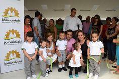 Alcalde Fernando Muñoz inauguró el Centro de Desarrollo Infantil del sector La Aurora