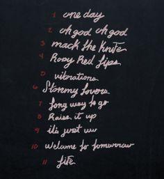 One Day tracklist