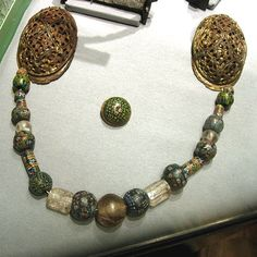 Medieval Glassbeads from Museum of Cultural History - UNI of Oslo (Thanks Michael Gorodetsky)