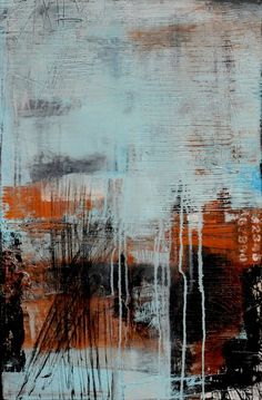 Urban Liner, abstract art print by Erin Ashley