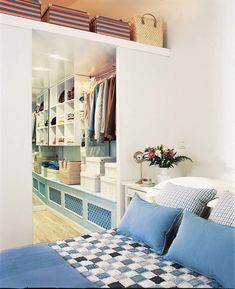 Walking Closet, Comfortable Fashion, Get Dressed, Ideas Para, Sweet Home, New Homes, Bedroom, House, Design