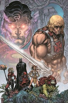 Masters Of The Universe Vs. DC Injustice Comic Limited-Series Coming From DC Comics