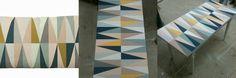 Ferm Living table paintjob (dutch tutorial by Goed in Stijl)