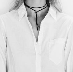 A choker is the perfect Spring accessory.