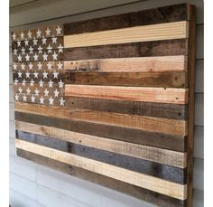 Wood American Flag Wall Art burnt large concealment flag | wooden american flag weapon