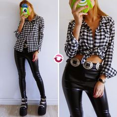 NEW LOOK CAMISA LEÑADORA NEGRO $450 UltimasNO VUELVE  PANTALON ENGOMADO $650 Tiro alto elastizado tremendo!  CINTURON TEXANO $250 Local Belgrano Envios Efectivo y tarjetas Tienda Online http://www.oyuelito.com.ar #followme #oyuelitostore #stylish #styles #fashion #model #fashionista #fashionpost #ootd #moda #clothing #instafashion #trendy #chic #girl #trends #outfitoftheday #selfie #showroom #loveit #look #lookbook #inspirationoftheday #modafemenina