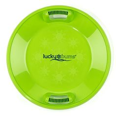 Lucky Bums Winter//Summer Float or Snow Tube 54-Inch Green