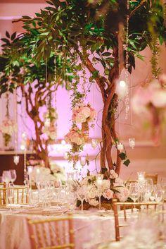 Lush Centerpieces | Raining Roses Productions, Inc. https://www.theknot.com/marketplace/raining-roses-productions-inc-orlando-fl-254087 | Binaryflips Photography https://www.theknot.com/marketplace/binaryflips-photography-punta-gorda-fl-802130