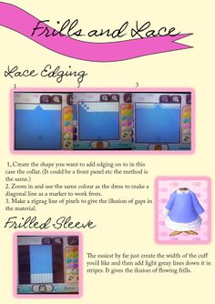 Animal Crossing Apparel — So I found some time to make another tutorial!...