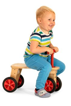 An indoor riding kiddie car for children aged 1 to Two sizes available. Perfect for children craving action and large muscle play. Classroom Setting, A Classroom, Tricycle, Your Child, Wooden Toys, Homeschool, Muscle, Action, Indoor