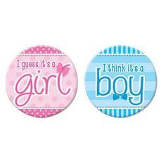 1.25 Circle Baby Favor Label Set of 35 Custom Safari Owl Festive Baby Shower Gender Reveal Girl Boy Birthday Tea Party Keepsake