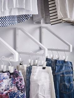 Cool College Apartment Decoration Ideas - Ikea DIY - The best IKEA hacks all in one place Diy On A Budget, Decorating On A Budget, Ikea Hacks, Closet Bedroom, Bedroom Decor, Bedroom Ideas, Design Bedroom, Dorm Closet, College Closet