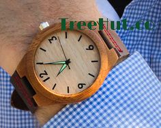 wood watch – Etsy