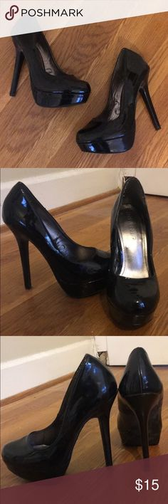 Black pumps Black forever 21 pumps. Great condition, only worn a handful of times. Size 7 1/2. Forever 21 Shoes Heels