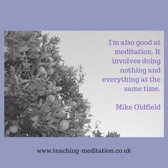 Meditation = nothing & everything Mike Oldfield Mike Oldfield, Meditation Quotes, How To Dry Basil, Everything, Herbs, Ideas, Quotes On Meditation, Herb, Thoughts