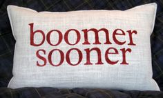 BOOMER SOONER STENCILED