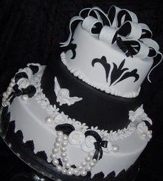 Bruidstaart voor de etalage Villeroy & Boch