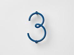 spoony:Stockholm Furniture Fair: House Numbers by Taiwan's NakNak | 2Modern Blog