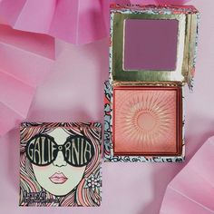 Benefit unveiled its new GALifornia Blush on Instagram and as its name would suggest, the product recalls the bohemian, sunshine vibe of the '70s, thanks to its sun tapestry-like design in the pressed coral powder.