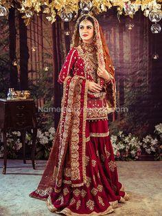 Pakistani Fashion Party Wear, Pakistani Wedding Outfits, Pakistani Dresses Casual, Pakistani Wedding Dresses, Pakistani Dress Design, Bridal Outfits, Indian Fashion, Nikkah Dress, Mehndi Dress