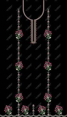 panjabi dress single head dress top with dupatta Embroidery Dress, Machine Embroidery, Bell Design, Page Design, Headdress, Embroidery Designs, Creative, Top, Color