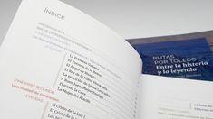 Diseño Editorial Libro Rutas y leyendas de Toledo Multimedia, Personalized Items, Studio Apartment Design, Editorial Design, Paths, Legends, Book, Historia