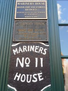 If you are visiting Boston, you should check out Mariners House. It is an old, historic house run by a retired Coastie and only open to CG, Navy and Merchant Marines. The rooms are clean, comfortable and the right price. $65 for a room with a double bed and own head and a galley-style breakfast. It is in the North End (by the CG base) and among Italian restaurants. Great place and highly recommended for us sea going folks!