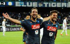 Higuain e Mertens, gol Napoli (Foto: AP)