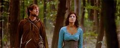 Robin And Marian<< they're so stinkin cute! Best Tv Shows, Movies And Tv Shows, Lucy Griffiths, Robin Hood Bbc, Bbc Tv Series, Sherwood Forest, King Richard, Me Tv, Delena
