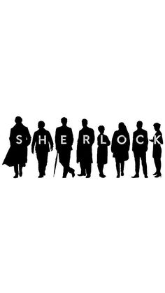 Wallpaper iPhone 5 Sherlock, John, Mycroft, Greg, Mrs Hudson, Molly, Moriarty, Irene <3