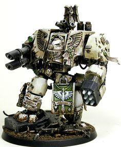 Ven3.jpg 472×576 pixels Custom Dreadnought - Warhammer 40k, Dark Angels Space Marines, Deathwing
