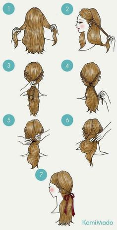 Braids make hair grow. Personally I would answer no to this question. When we remove our additions, we often see a net regrowth. So we think it's thanks to the braids! Certainly the protective hairstyles of this type allow our… Continue Reading → Cute Simple Hairstyles, Braided Hairstyles, Cool Hairstyles, Hairstyle Ideas, Drawn Hairstyles, Hair Ideas, Wedding Hairstyles, Hairstyle Braid, Braided Ponytail