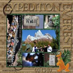 Expedition Everest - Page 3 - MouseScrappers.com
