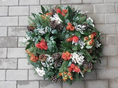 dušičkové věnce - Hledat Googlem Floral Wreath, Wreaths, Home Decor, Flower Crown, Decoration Home, Door Wreaths, Deco Mesh Wreaths, Interior Design, Garlands