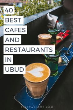 All the best places to eat and drink in Ubud, Bali. I have personally dined at each and every one of these 40 restaurants and cafes and they are some of my favorites in the whole of Indonesia! Bali Travel Guide, Asia Travel, Beach Travel, Travel Advice, Luxury Travel, Budget Travel, Travel Guides, Travel Tips, Travel Destinations