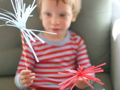 Sparklers That Don't Burn Your Eyes Out   11 Last-Minute Fourth Of July DIY Projects For The Whole Family