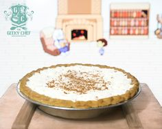 Toriel's Butterscotch Cinnamon Pie | The Geeky Chef