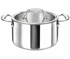 Cool Kitchen Tri-Ply Stainless Steel 7.5 Quart Casserole with Glass Lid by Cool Kitchen Integral 3. $144.00. Made with a tri-ply aluminum core that extends to the rim offering superior performance.. Made fom the highest quality heavy-guage 18/10 stainless steel. Compatible with all cooking surfaces including induction, oven safe, dishwasher safe, limited Lifetime Warranty. Riveted stay-cool handles for easy and safe transportation. The Cool Kitchen Cookware is manuf...