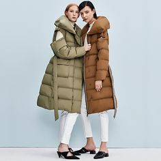 bacf97fde32c RC020 New Arrival 2017 fashion casual two way detachable sleeves long loose warm  white duck down jacket vest women coat winter-in Down Coats from Women s ...