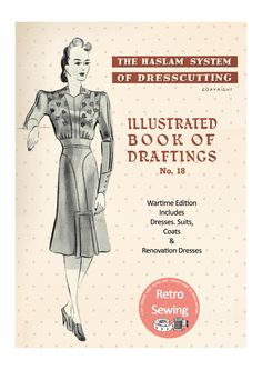 The Haslam System of Dressmaking No. 18 Wartime by MyVintageWish