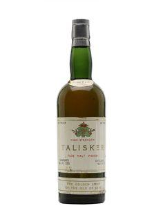 Talisker Pure Malt Whisky / Bot.1950s Scotch Whisky : The Whisky Exchange