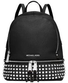 MICHAEL Michael Kors Rhea Studded Backpack | macys.com