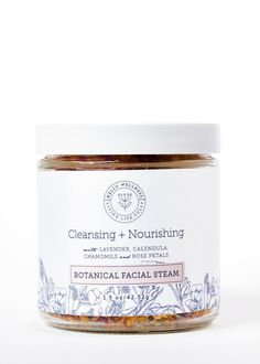Cleansing + Nourishing Botanical Facial Steam
